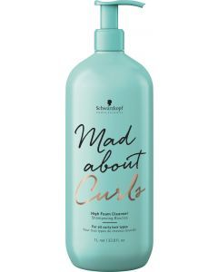 Schwarzkopf Mad About Curls High Foam Shampoo 1000ml