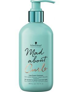 Schwarzkopf Mad About Curls Low Foam Shampoo 300ml
