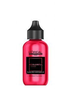 L'Oréal Colorfulhair Flash Midnight Fuchsia60ml