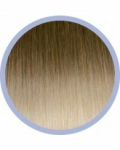 Euro So. Cap. Flat Ring-On Ombre Extensions Donerkblond/ Lichtblond 10-20 10x50-55cm