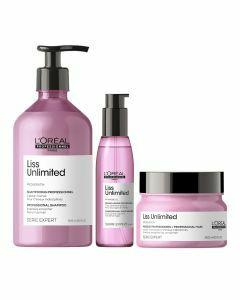 Pluizig haar pakket L'Oréal Serie Expert Liss Unlimited