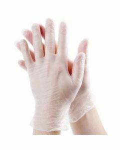 10x Stockhunter Vinyl-handschoenen gepoederd Maat L 100st.