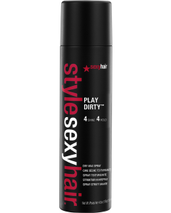 Sexyhair Style Play Dirty Dry Wax Spray 150ml