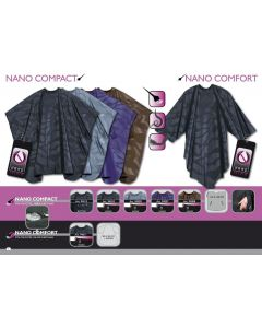 Trend-Design Schneideumhang Nano Comfort schwarz 135x150cm