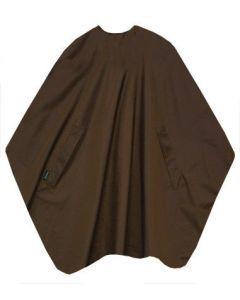 Trend-Design Kapmantel Classic hooks bruin